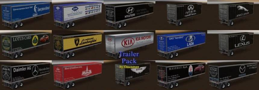 Trailer Pack Car Brands v1.0 (1.28.x)