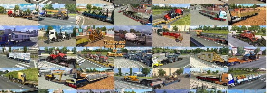 Trailers and Cargo Pack by Jazzycat v5.6