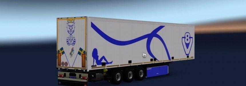 V8 Blue Style Trailer v1.0