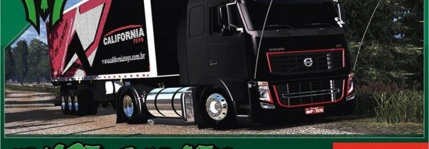 Volvo FH Classic Edit BR Canal Ryse Gamer