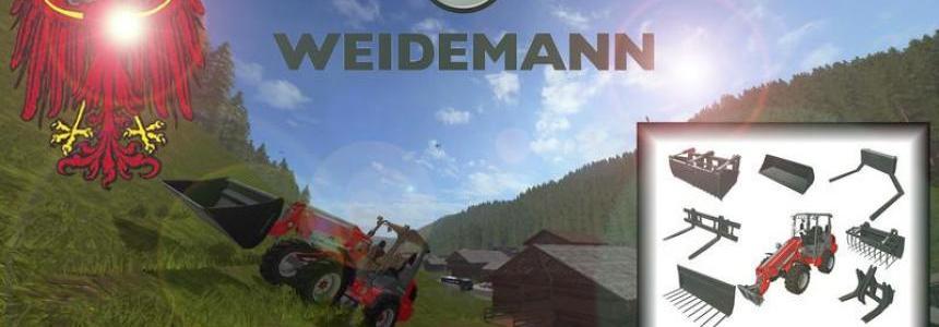 Weidemann 1770 GX50 (front loader) v1