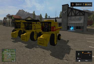 3 New Holland TR Harvesters v1.0