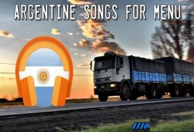 Argentine songs for menu v1.5