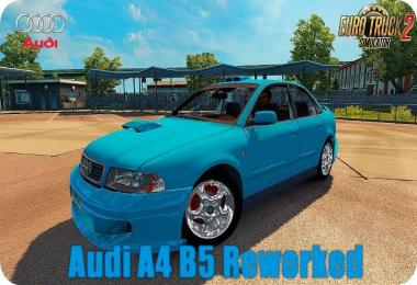 Audi A4 Rework v1.1 by xAntiee Modding 1.28.x