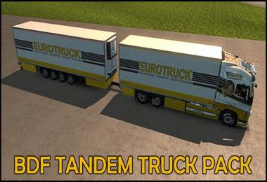 BDF Tandem Truck Pack v85.5 1.28.x
