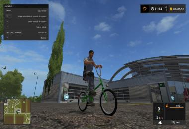 Bycicle Green Infinite Speed fs17 v1.0