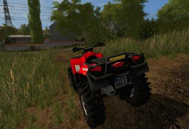 CanAM 1000 XT Fire Department Fundmod v2.0.1.7