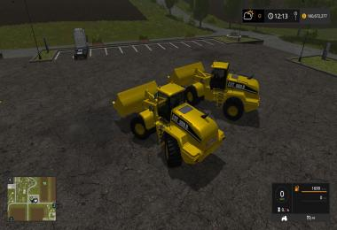 Caterpillar 980H - 25000 Liters FS17 v1.0