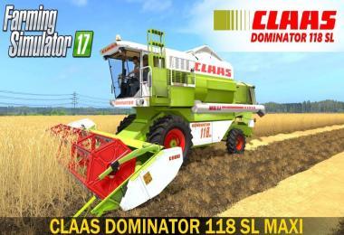 Claas Dominator 118 SL v1.1