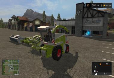 Claas Jaguar 880 Full Pack v1.0