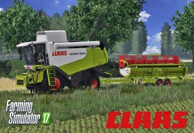 CLAAS LEXION 550 FULL PACK v1.4.4