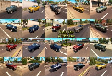 Classic Cars AI Traffic Pack v1.4