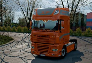 DAF Orange CMI Interior 1.28.x