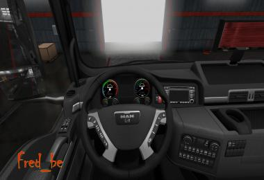 Dashboard for MAN TGX SCS 1.28.Xs