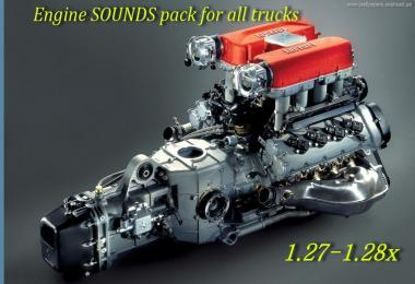 Engine SOUNDS pack for all trucks v1.0