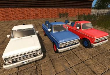 Ford Ranger F100 – F200 dynamicHoses v1.0