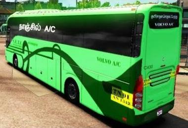 Indian Volvo Bus v2.1 added Skins