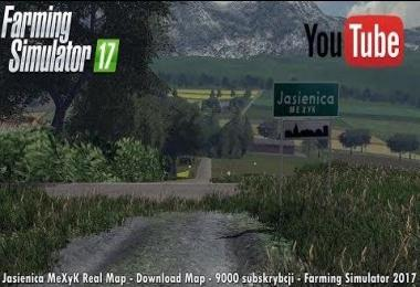 Jasienica MeXyK Real Map v1.0
