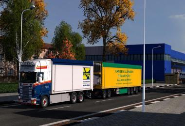 Kraker Tandem addon for RJL Scania rs&r4 v1.1 1.28.x