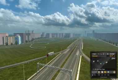 Map of Minsk Moscow Crimea v1.0