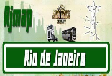 Map - Rio de Janeiro For v1.28