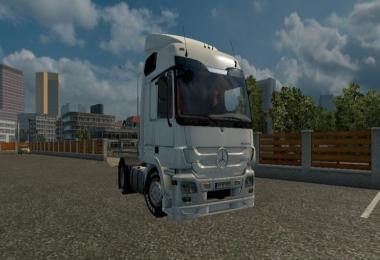 Mercedes Actros B Cabin Edited 1.28.x