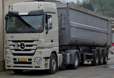 Mercedes Actros MP3 Stock Sound v2.0