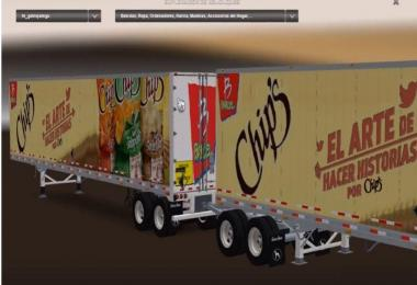 Mexican Skins for Great Dane 48 Double Trailer v4.0