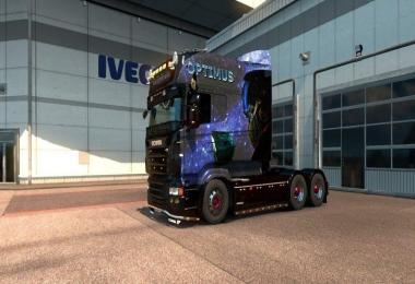 Optimus Prime Paintjob for RJL's Scania R Longline 1.28.x