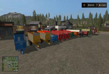 Pack of trailers v1.0