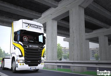 PrimaFrio – Scania R + Cheareau Trailer Skin Pack v1.0