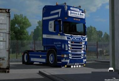 Scania Peeters & Son Pack v1.1 Fixed