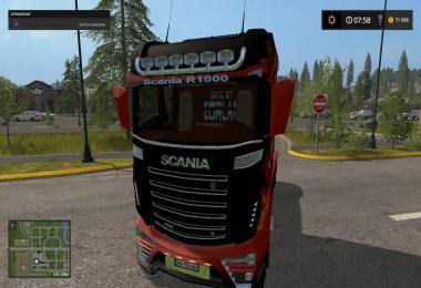 Scania R1000 FIRE v1.0