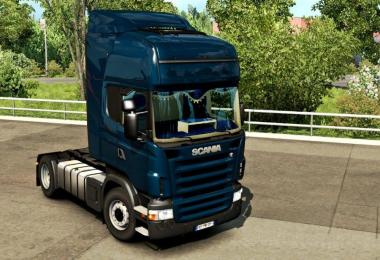 Scania RJL CMI Blue Interior v1.0