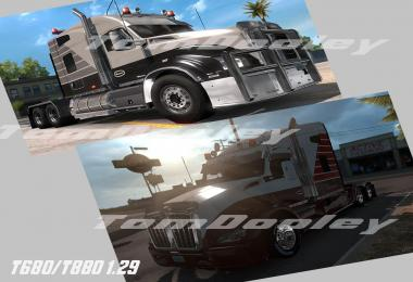 TomDooley's Enhanced Kenworth T680/T880 1.29 beta