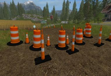 Traffic Cones Pack v1.0.0.0