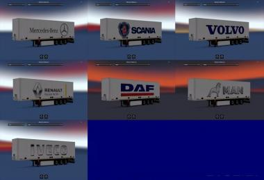 Truck Brands Trailer Skin Pack