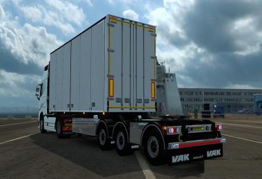 VAK V-Slider + Limetec Trailer B-Double v1.0
