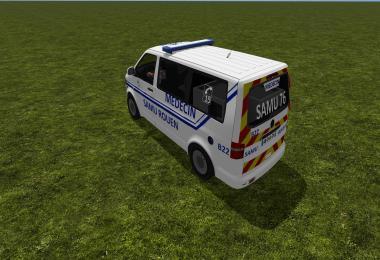 Volkswagen transporteur samu v2