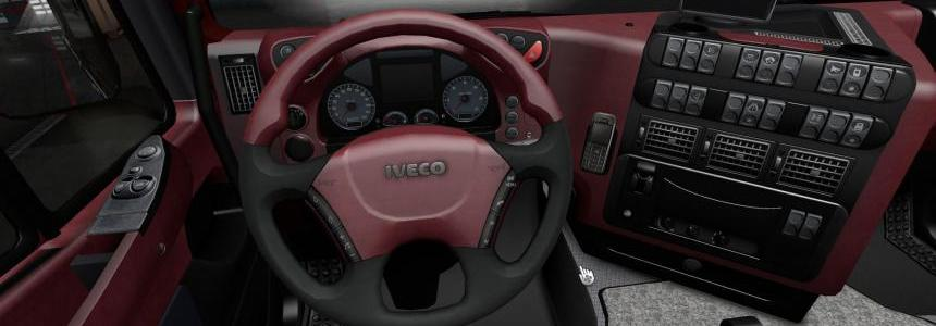 Interiors for MAN TGX and Iveco Stralis v1