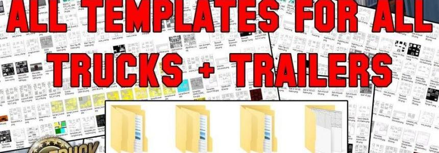 All Truck + Trailer Templates Collection Pack [50 + Template] 1.28.x