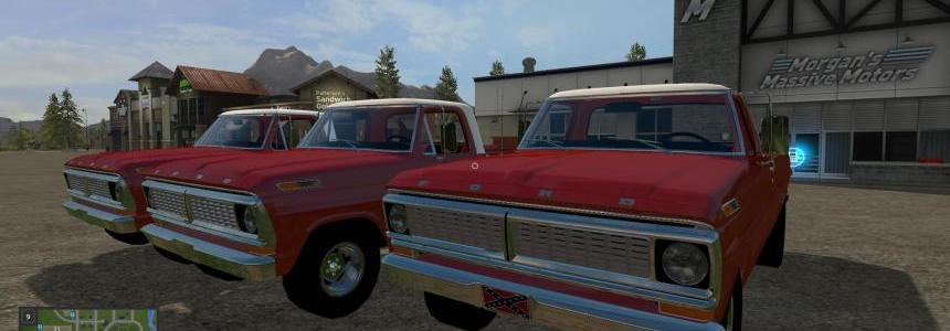 1970 Ford F-100 Triple Pack v1.0