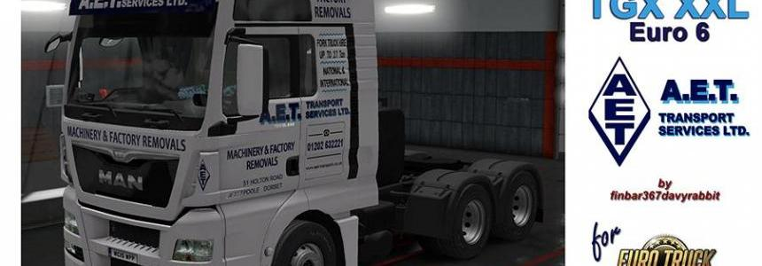 MAN TGX XXL – AET Transport Services Texture