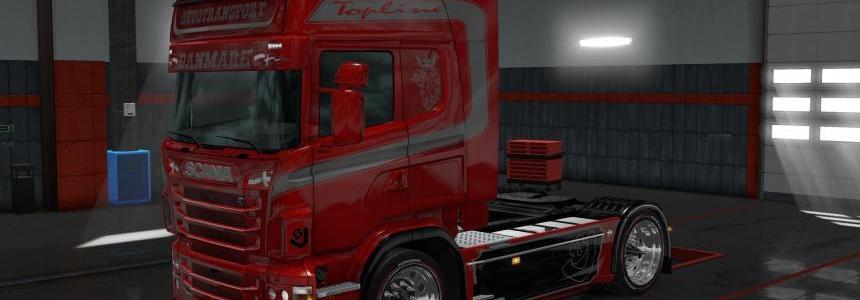 Skin Autotransport Red Lady Metalli 1.28.x