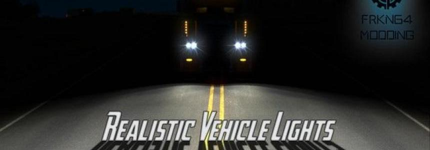 Realistic Vehicle Lights v2.4 – by Frkn64 (ATS Edition)