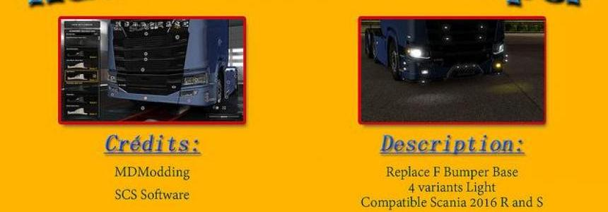 Add slot bumper scania 2016 v1.0