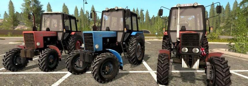 Belarus MTZ 82.1 pack v1.1