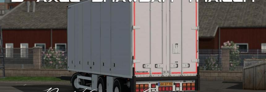 Bussbygg 3 axle drawbar trailer v1.2 1.28-1.30