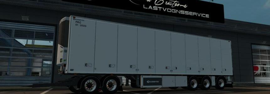 Bussbygg Euromax Nordic Trailer with dolly v1.0 1.28-1.30