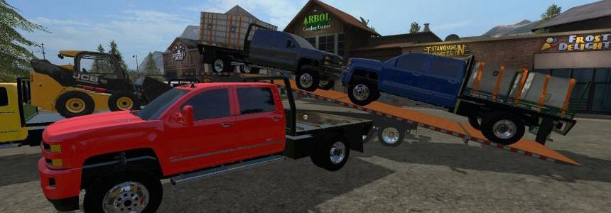 Chevy Silverado 3500HD Flatbed v1.0